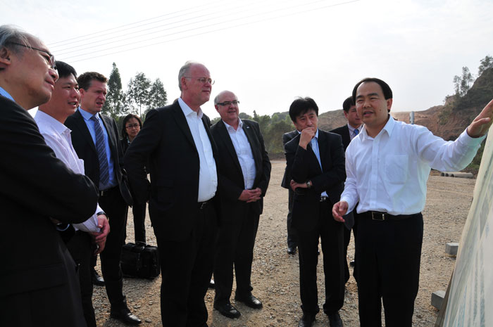 German Delegation Expects Sino-German Metal Eco-City to Create Benefits soon