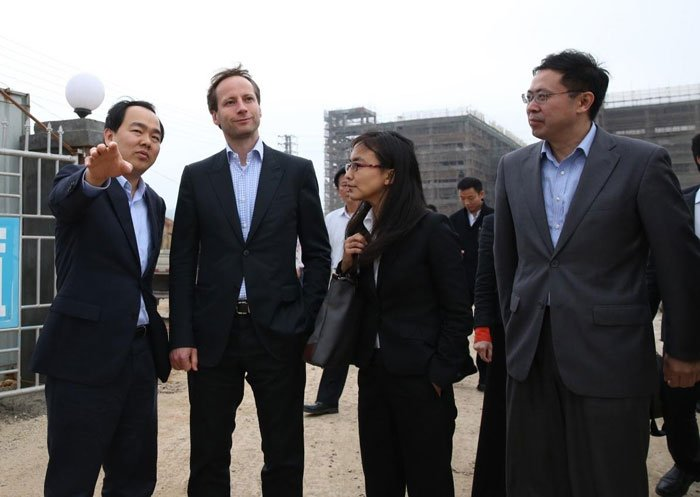 CEO of ALBA Group investigates Sino-German Metal Eco-City