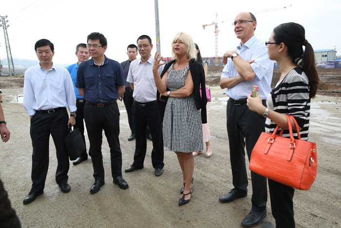 General manager of BBW visits Jieyang to investigate Sino-German Metal Eco City
